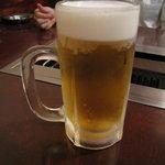 焼肉 静龍苑 - 生ビール
