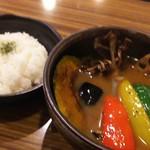 タビ カフェ - スープカレー930円