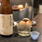 炭焼 芹生 - からはし 純米吟醸 夢の香/福島喜多市ほまれ酒造('18.9月上旬)