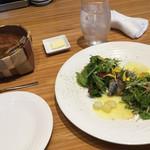 BISTRO La Plume - 炙り秋刀魚と茄子のガトー炒め