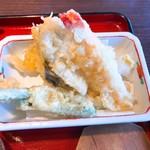 小魚 阿も珍 - 天ぷら