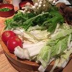しゃぶ屋 - 野菜