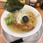 麺家 不忘 - 鶏塩清湯 800円