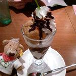 キャッツカフェ - プチパフェ(チョコシュー)