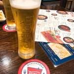 Tazza - ビール   490円