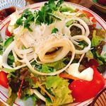 江戸村 - 大根とジャコのサラダ