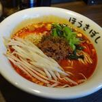 自家製麺ほうきぼし - 料理写真:「 担々麺 」辛さは控えめ