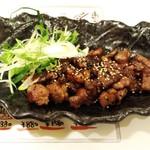 梅田 肉寿司 かじゅある和食 足立屋 - カルビ炙り