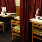 梅田 肉寿司 かじゅある和食 足立屋 - 二階席