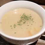 やまむらや直営 黒毛和牛と199円ドリンク 山村牛兵衛 - スープ