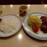CAFE DE FAN FAN - 照り焼きセット850円