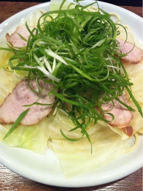 広島風冷しつけ麺・楽