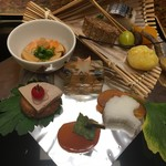古屋旅館 - 料理写真:八寸