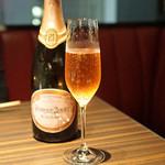 焼肉うしごろ - Champagne Perrier-Jouet Blason Rose