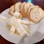 ザ・ニューヨークカフェ - クリームチーズ&蜂蜜(380円)