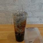 茶咖匠 - 黒糖ラテ黒ごまL(680円税別)