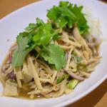 タイ料理ピン・タイ - スップノーマイ
