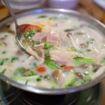 タイ料理ピン・タイ - トムカーガイ