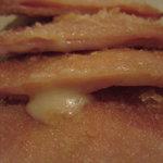 煮込み屋ぐっつ - チーズハムカツUP