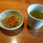 蕎・馳走 岩舟 - 揚げ蕎麦とお茶