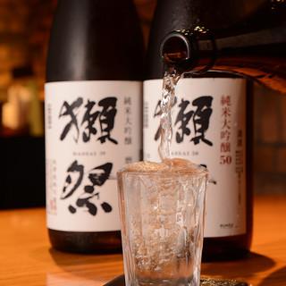 """""""日本酒""""が旨い。厳選した日本酒が常時17種以上の品揃え!"""
