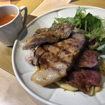 BUTCHER NYC CRAFT BEER & WINE / BBQ & GRILL - スープ付き