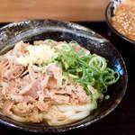 こがね製麺所 - 料理写真:肉ぶっかけ冷