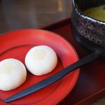 日本料理 紫水 - お茶セット