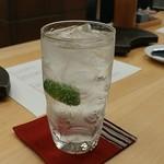 やきとり宮川 - 日本酒ハイボール
