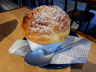 GATHER@EATINGHOUSE - 熱々ブリュレのパイ包み焼き(税別880円)
