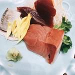 築地寿司清 - 少しばかり寂しかったお刺身