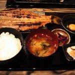 9796448 - しまほっけ定食(2011.9)+生卵