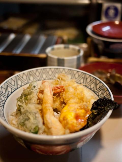 天錦 - 天錦 ランチの天丼