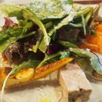ルポ - 前菜、ポテトタルト手作りハム