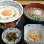 西谷温泉 水車茶屋 - 山芋丼定食