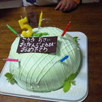 アルピーヌ - メロンのケーキ
