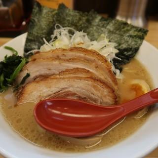 ラーメン大桜 - 料理写真:ネギチャッたま(緬固め)