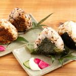 Pono cafe - 焼きおむすび・麦むすび(ツナマヨ等)