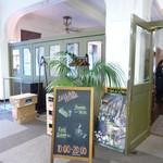 カフェドゥラプレス - お店の入り口