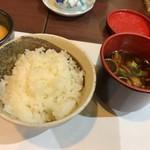 かずさリゾート鹿野山ビューホテル - 両城なめこの赤出汁