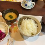 かずさリゾート鹿野山ビューホテル - 清和産自然薯のとろろ飯