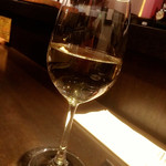 ディベロップメント キュイジーヌ - 白ワインも頂いちゃいました…(笑)