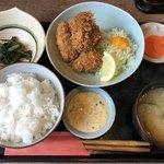 97985166 - カキフライ定食