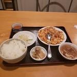 97985410 - 肥腸炒豆腐定食