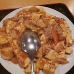 97985411 - 肥腸炒豆腐定食700円
