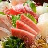 三浦うおしち商店 - 料理写真:三崎の海の刺身盛り合わせ4点 ¥1290