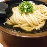 udonsakabakagawaichifuku - この角度だと、汁の透明感が分かりやすいかな。