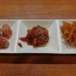 ふじ - ピリ辛3種盛