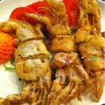蓬莱閣 - 料理写真:脱皮蟹のからあげ