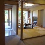 Hoterusambareizunagaoka - 露天風呂付き「あやめ亭」に宿泊